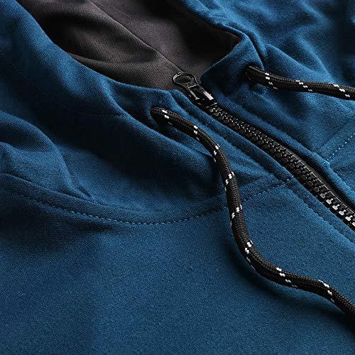 Malloom Homme Pantalons Pour Costume Ensembles Survêtement À Marine Sports Sweat D'automne Top shirt Glissière 7CAAqxw4
