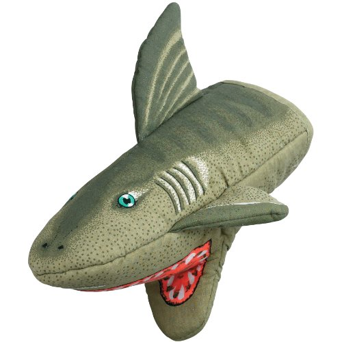 Shark Oven Mitt, Quilted Cotton, Designed for Light Duty Use, by Boston Warehouse -  25152