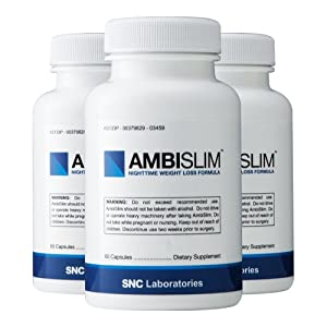 Ambislim Pm Weight Loss Aid Lose Weight While You Sleep by SNC Labs
