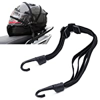 Kangnice 2 Hooks Motorcycles Strength Retractable Helmet Luggage Elastic Rope Strap by Kangnice