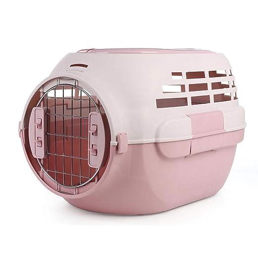 Caja del Animal doméstico del Coche Jaula de plástico Gato y Perro ...