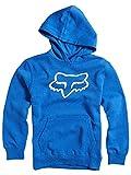 Fox Racing Boys Legacy Fleece Hoody Pullover Sweatshirt Large Blue
