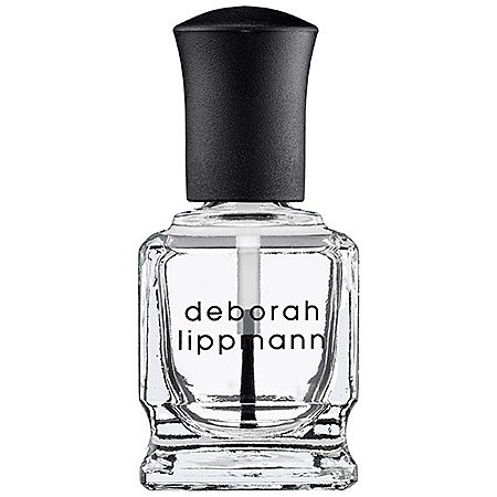 Hard Rock Base & Top Coat Nail Strengthening Deborah Lippmann Nail Polish 0.50 oz Women