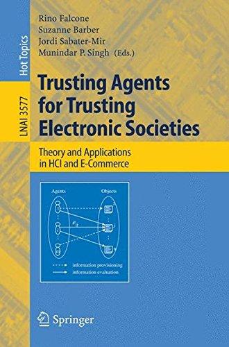 Trusting Agents Electronic Societies Commerce PDF E56f9e6b7