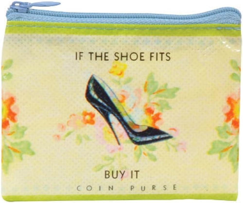 Blue Q Shoe Money Coin Purse Luggage Wallets, Card Cases & Money ...