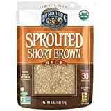 Lundberg Organic Sprouted Short Grain Brown Rice, 1 Pound - 6 per case.