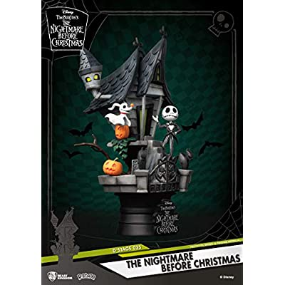 Beast Kingdom The Nightmare Before Christmas Ds-035 D-Stage Series Statue: Toys & Games