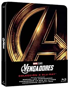 Steelbook Trilogía: Avengers [Blu-ray]