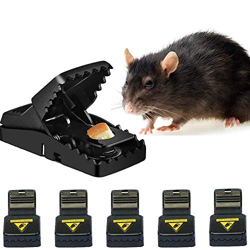 Mouse Trap - Rats Trap/Best - Mice Trap That Work Rodent Killer 100% Mouse Catcher - Reusable Instantly [If not Effective - Refund 100%] - 2018 Upgraded Version -Tomcat/Victor Oudoor