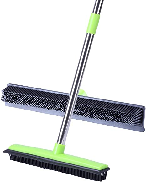 Long push rubber broom cleaner Free Worldwide Shipping