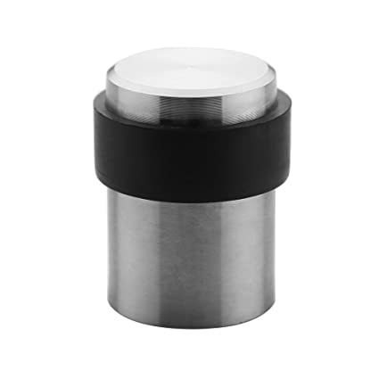 Ordinaire TPOHH SUS304 Brushed Stainless Steel Cylindrical Floor Mount Door Stop  (1 3/4u0026quot