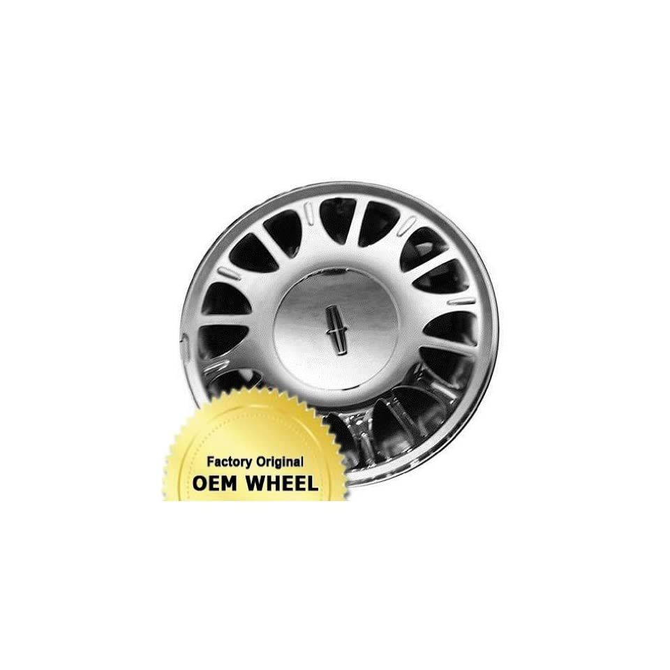 LINCOLN TOWN CAR 16x7 16 HOLE Factory Oem Wheel Rim  CHROME   Remanufactured Automotive