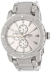 Armitron Men's 20/4899SVSV Multi-Function Silver-Tone Stainless Steel Bracelet Watch
