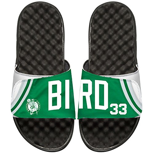 Larry Bird Celtics Jersey (NBA Boston Celtics Larry Bird Retired Player Islides Jersey, White/Black, 7)