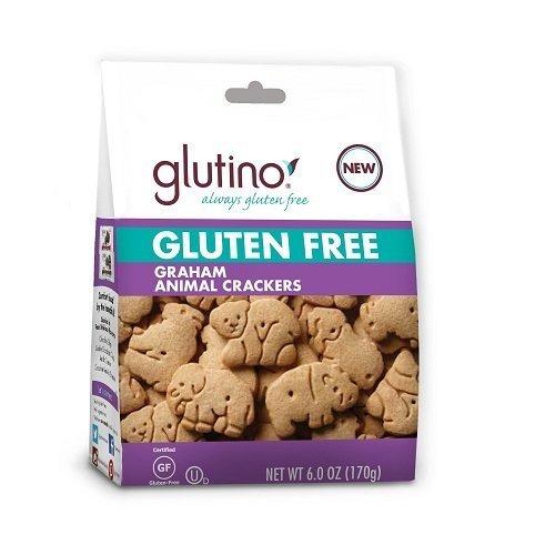 Glutino Cookie Anml Crckr Graham