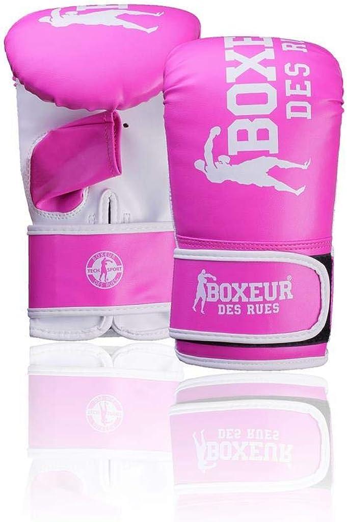 BOXEUR DES RUES Unisex Black Bag Gloves