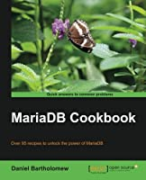 MariaDB Cookbook Front Cover