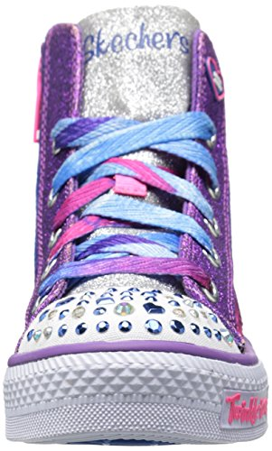 Twinkle Toes By Skechers S Lights Shuffles Magic Madness Zapatillas
