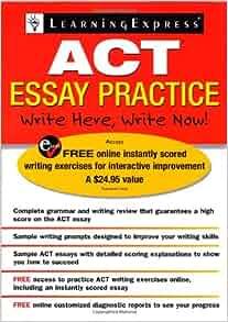 act essay practice com books
