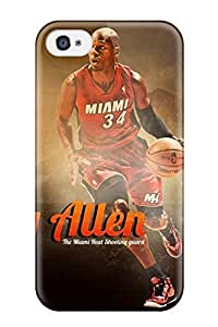 High Quality AnthonyR Nba Player Sport Ray Allen Basketball Miami Heat Skin Specially Designed For Ipho4/4s