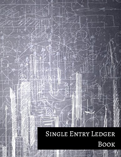 (Single Entry Ledger Book: One Column Columnar)