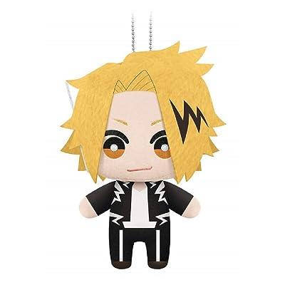 My Hero Academia Mascot Plush Keychain - Denki Kaminari: Toys & Games