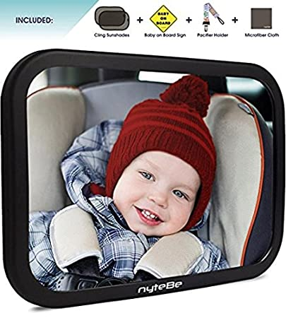 Amazon Com New 2017 Model Luxury Baby Backseat Mirror View