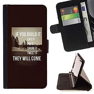 - Queen Pattern FOR Sony Xperia Z1 L39 /La identificaci????n del cr????dito ranuras para tarjetas tir????n de la caja Cartera de cuero cubie - build it inspiring sepia message sma