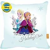 ORKA Frozen Anna & Elsa Digital Printed Cushion Cover