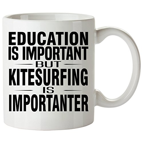 Ozone Kite Harness - KITESURFING Mug 11 Oz - Good for Gifts - Unique Coffee Cup Accessories Equipment