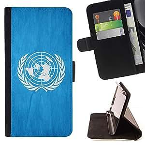 Momo Phone Case / Flip Funda de Cuero Case Cover - Nacional bandera de la nación País de las Naciones Unidas; - Apple Iphone 6