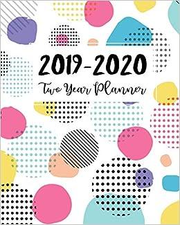 Amazon.com: 2019-2020 Two Year Planner: 2 Year Calendar ...