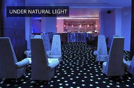 Joy Carpets Neon Lights Carpet Tiles Fluorescent Flooring Sqaures 1mx1m 4 Tile Pack 43 Sqft