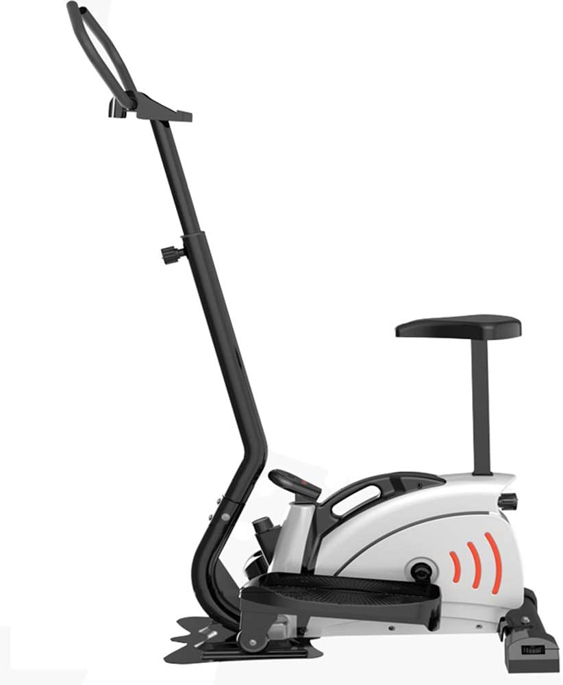 JKGLD Elliptical Machine for Home Elliptical Machine Trainer Smooth Quiet Elliptical Trainer Cardio Fitness Workout Machine for Home Office Gym for Small Rooms, Apartments Exercise Machine