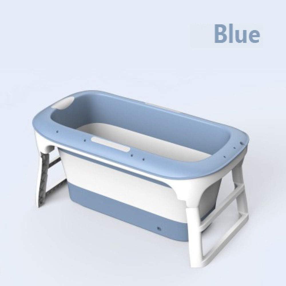 Ssltdm Bañera para Adultos de Gran tamaño con Tapa Bañera Plegable ...