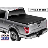 Gator ETX Soft Tri-Fold Truck Bed Tonneau Cover | 59305 | fits Ford F-150 2004-08 (6 1/2 ft bed) without rail system, does not fit flareside