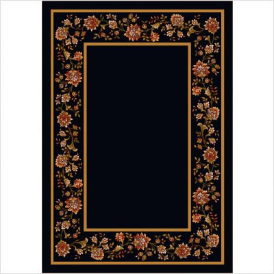 Design Center Khorrasan Onyx Rug Size: Runner 2'4
