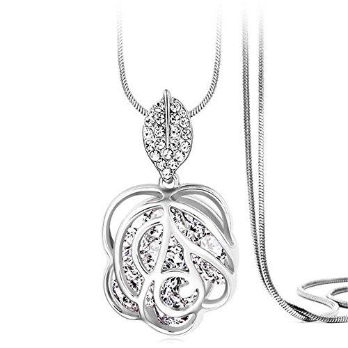 Z Jeris Fashion Rhinestone Stuffing Necklace product image