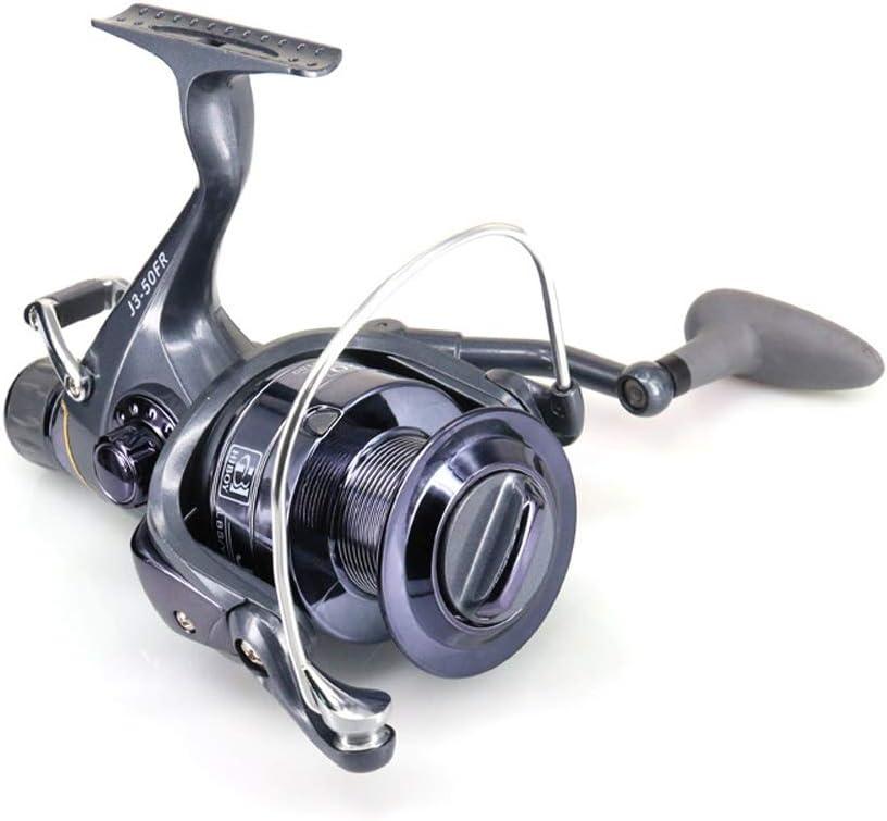 20-60FR 3 Ball Bearings Carp Spinning Fishing Reel Front Rear Drag Fishing Wheel