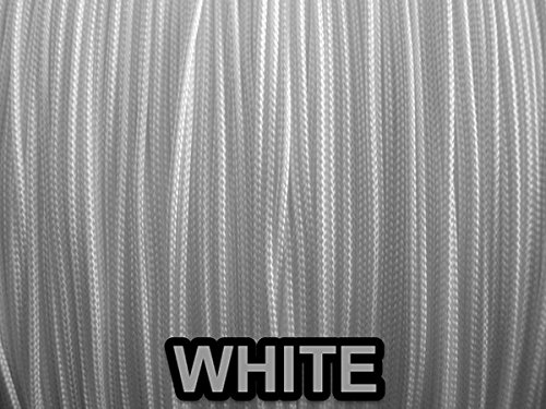 White Professional Grade Lift Cord For Window Treatments 10 Yards  1.2 Mm