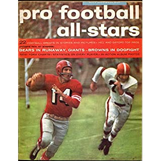 Pro Football All-Stars 1957-Maco-NFL player stats-photos-schedule-FN