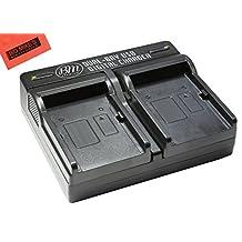 BM Premium DMW-BLC12 Dual Battery Charger for Panasonic Lumix DMC-GX8, DMC-G7, DMC-G6K, DMC-G6KK, DMC-GH2, DMC-G5, DMC-FZ200, DMC-FZ300, DMC-FZ1000 Digital Camera