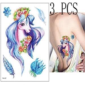 Handaxian 3 Piezas Colorido Geisha Ciruela Paraguas Tatuaje ...