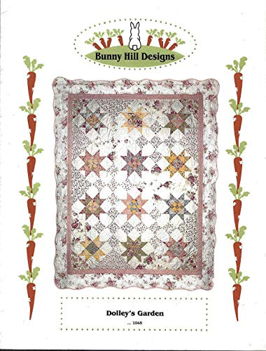 Dolly's Garden - Quilt and Applique Pattern 1048 from Bunny Hill Designs Finished Size 68
