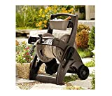 Suncast 225-foot Durable Design Features Graphite-reinforced Construction Gardening and Lawn Care Hose Reel