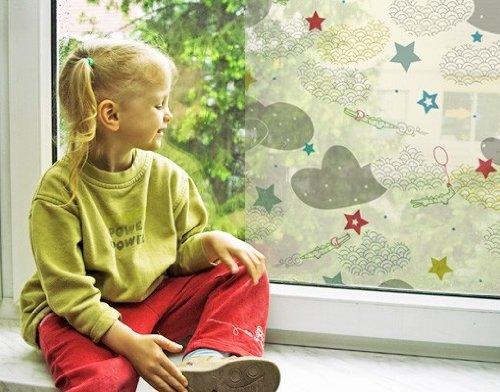 ウィンドウスカイワニのウィンドウステッカーウィンドウフィルム窓用ガラスウォールステッカーウィンドウアートウィンドウ飾りウィンドウ装飾 75.6x56.7 inches 18579 B00V0HYFP8 75.6x56.7 inches75.6x56.7 inches
