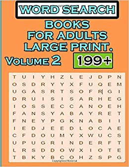 word search books for adults large print Volume 2: Funster