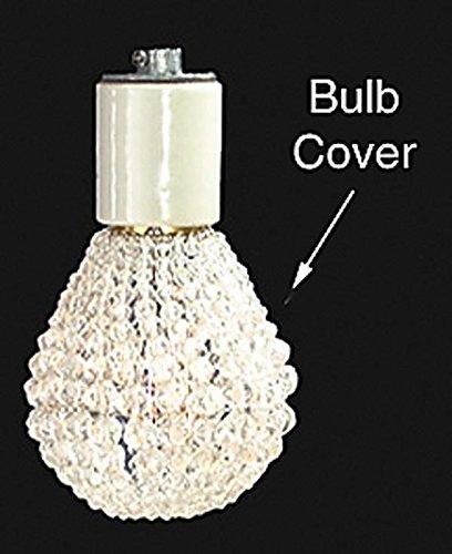 B&P Lamp Clear Beaded Bulb Cover for Standard A-19 Bulb (Bulb Covers Beaded)