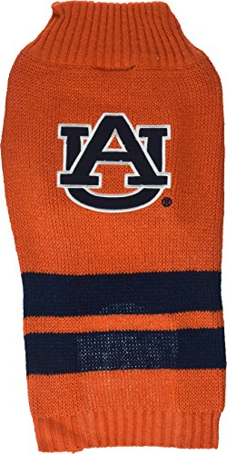 Pets First Collegiate Auburn Tigers Dog Sweater, Medium