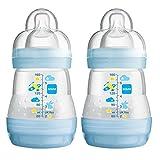 MAM Anti-Colic Bottle, Boy,  5 Ounces,  2-Count